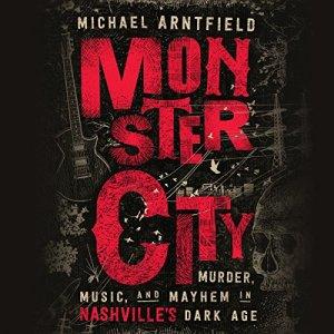 Monster City audiobook cover art