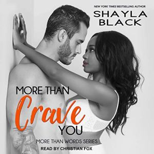 More Than Crave You audiobook cover art