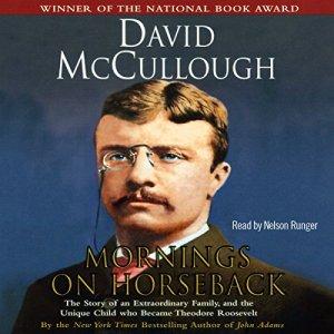 Mornings on Horseback audiobook cover art