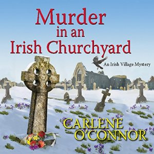 Murder in an Irish Churchyard audiobook cover art