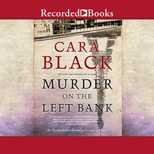 Murder on the Left Bank audiobook cover art