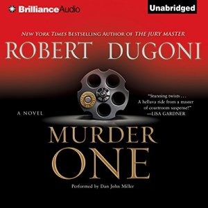 Murder One audiobook cover art