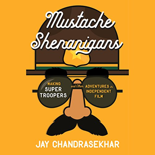 Mustache Shenanigans audiobook cover art