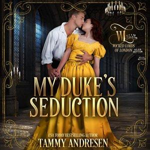 My Duke's Seduction  audiobook cover art