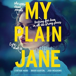 My Plain Jane audiobook cover art
