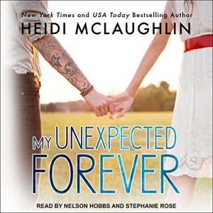 My Unexpected Forever audiobook cover art