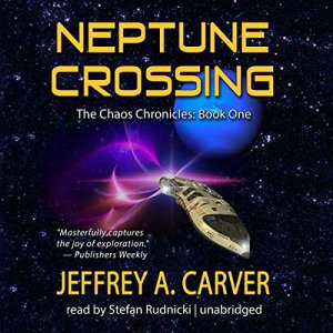 Neptune Crossing audiobook cover art