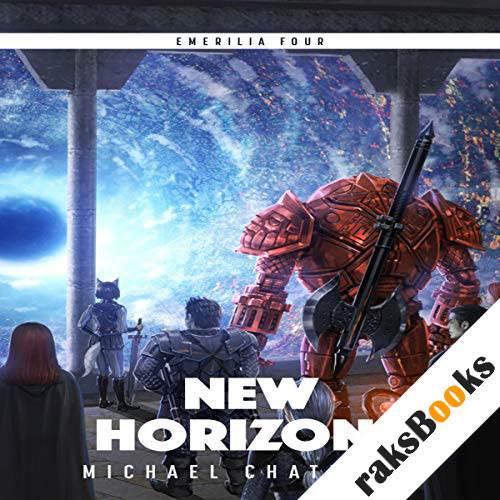 New Horizons audiobook cover art