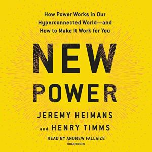 New Power audiobook cover art
