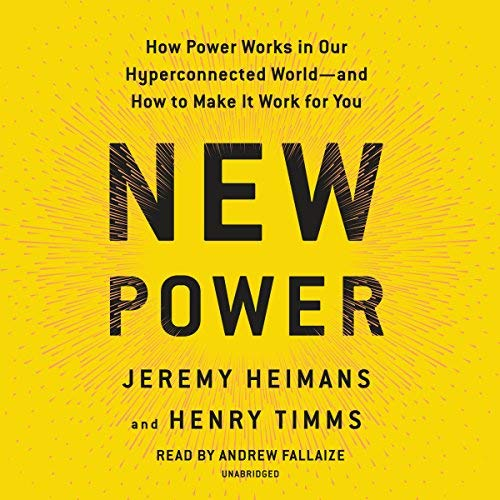 New Power audiobook cover art