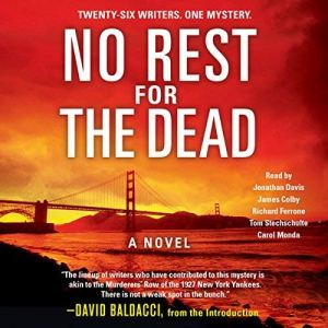 No Rest for the Dead audiobook cover art