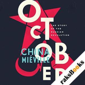 October audiobook cover art