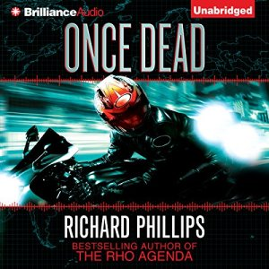 Once Dead audiobook cover art