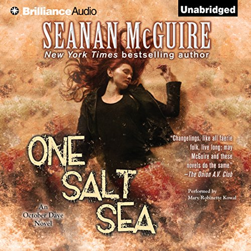 One Salt Sea audiobook cover art