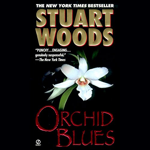Orchid Blues audiobook cover art