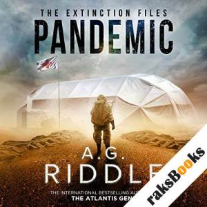 Pandemic audiobook cover art