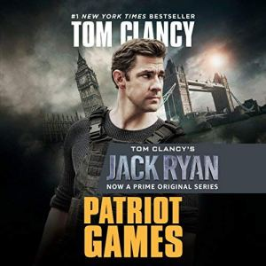 Patriot Games audiobook cover art