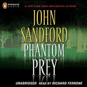 Phantom Prey audiobook cover art
