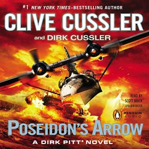 Poseidon's Arrow audiobook cover art