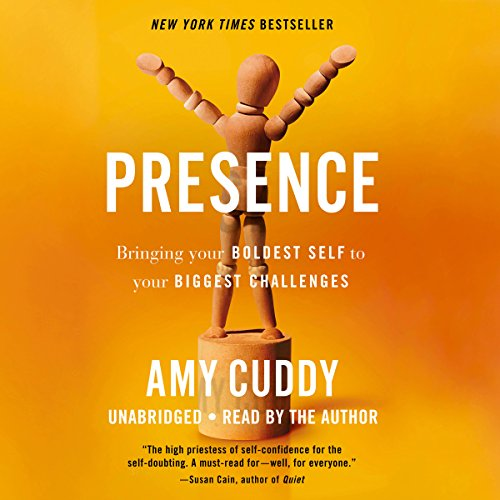 Presence audiobook cover art