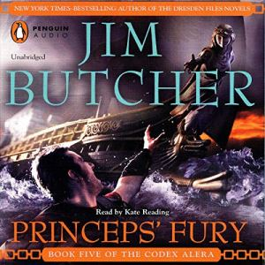Princeps' Fury audiobook cover art