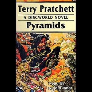 Pyramids audiobook cover art