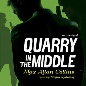 Quarry in the Middle audiobook cover art