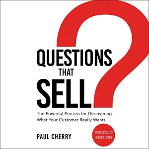 Questions That Sell audiobook cover art