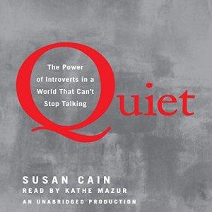 Quiet audiobook cover art