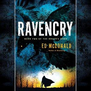 Ravencry audiobook cover art
