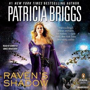 Raven's Shadow audiobook cover art