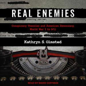 Real Enemies audiobook cover art