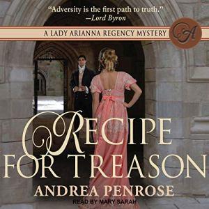 Recipe for Treason audiobook cover art