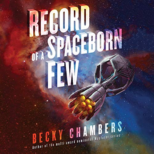 Record of a Spaceborn Few audiobook cover art