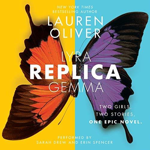 Replica audiobook cover art