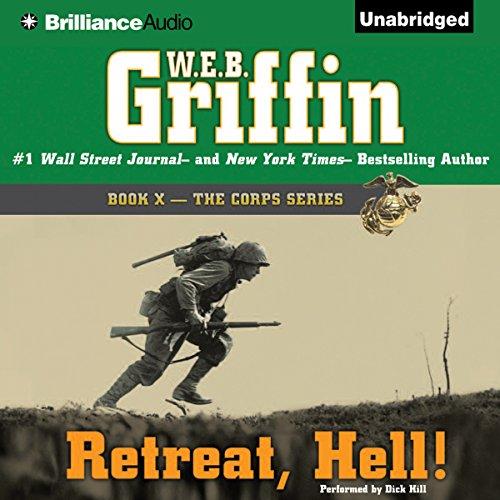 Retreat, Hell! audiobook cover art