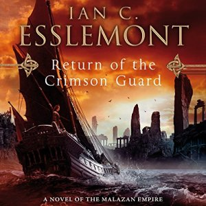 Return of the Crimson Guard audiobook cover art