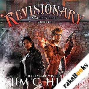 Revisionary audiobook cover art