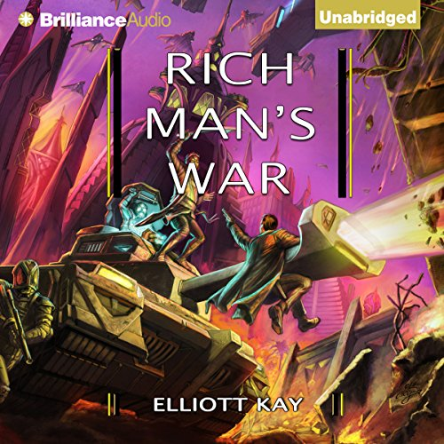 Rich Man's War audiobook cover art