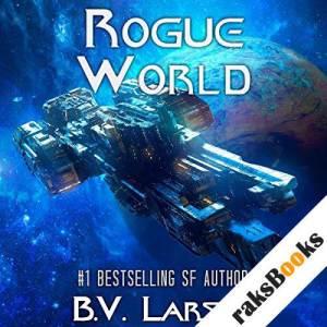 Rogue World audiobook cover art