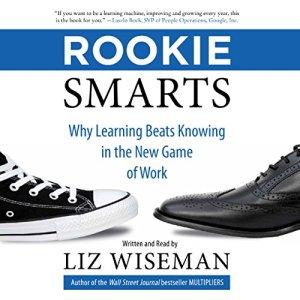 Rookie Smarts audiobook cover art