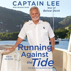 Running Against the Tide audiobook cover art