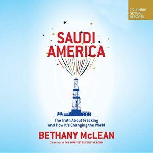 Saudi America audiobook cover art