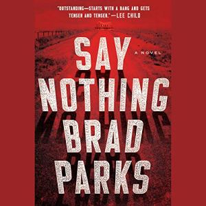 Say Nothing audiobook cover art