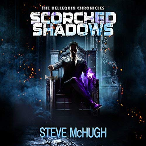 Scorched Shadows audiobook cover art