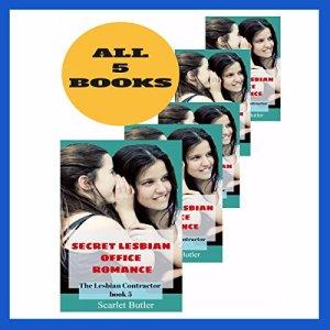 Secret Lesbian Office Romance audiobook cover art