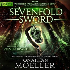 Sevenfold Sword, Part II audiobook cover art