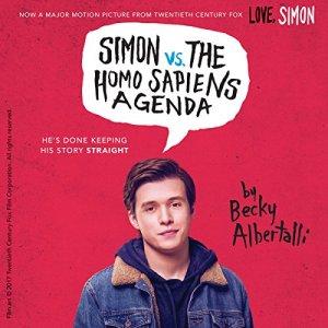 Simon vs. the Homo Sapiens Agenda audiobook cover art
