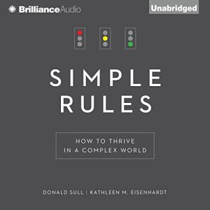 Simple Rules audiobook cover art