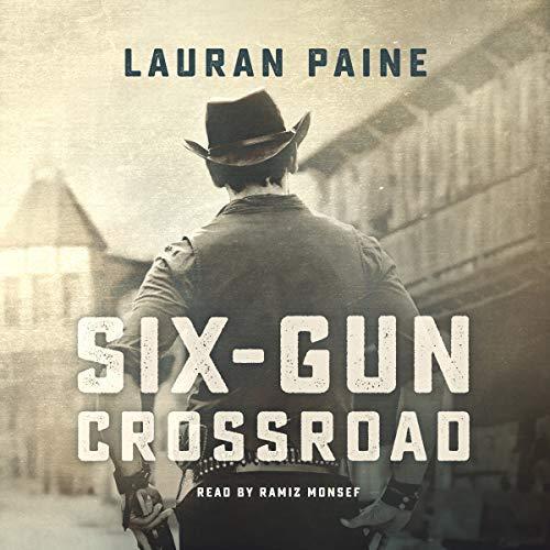 Six-Gun Crossroad audiobook cover art